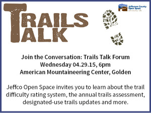 Trails Talk Forum 2015-Apr Teaser promo graphic